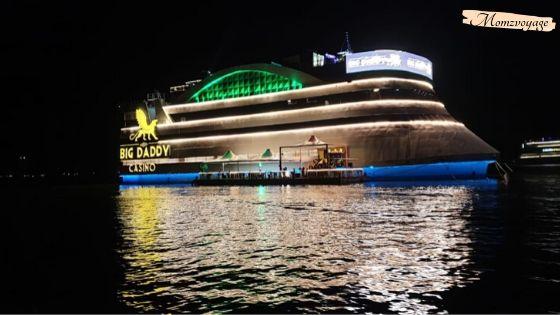 Night click of Big Daddy Casino