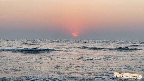 Sunset at Arambol beach Goa